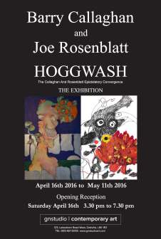 Barry Callaghan + Joe Rosenblatt